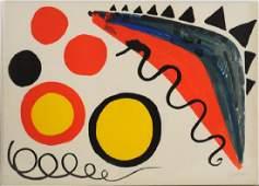 Alexander Calder Pencil Signed Lithograph