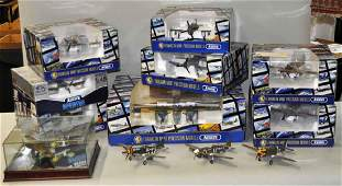 Group of Franklin Mint Precision Model Airplanes