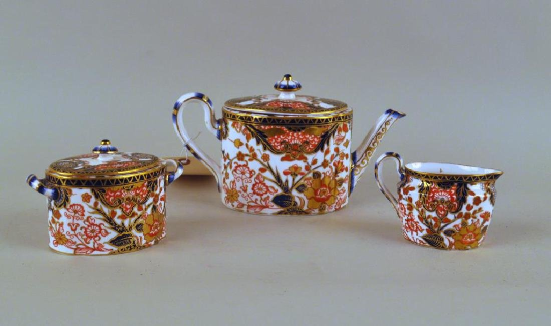 Three Piece Royal Crown Derby Tea Set