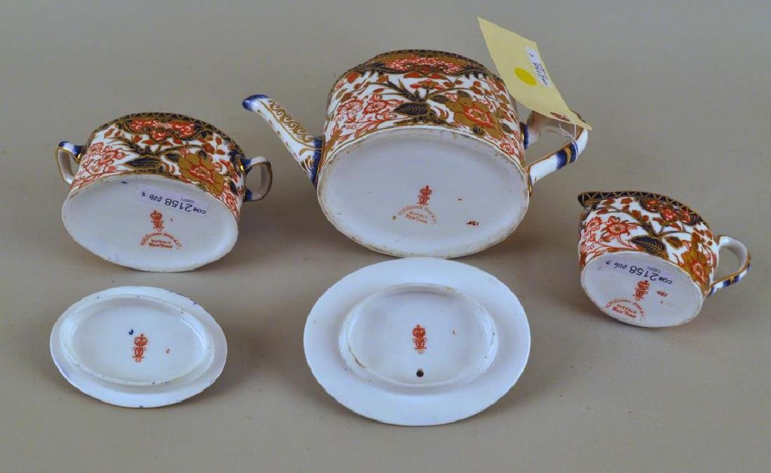Three Piece Royal Crown Derby Tea Set - 3