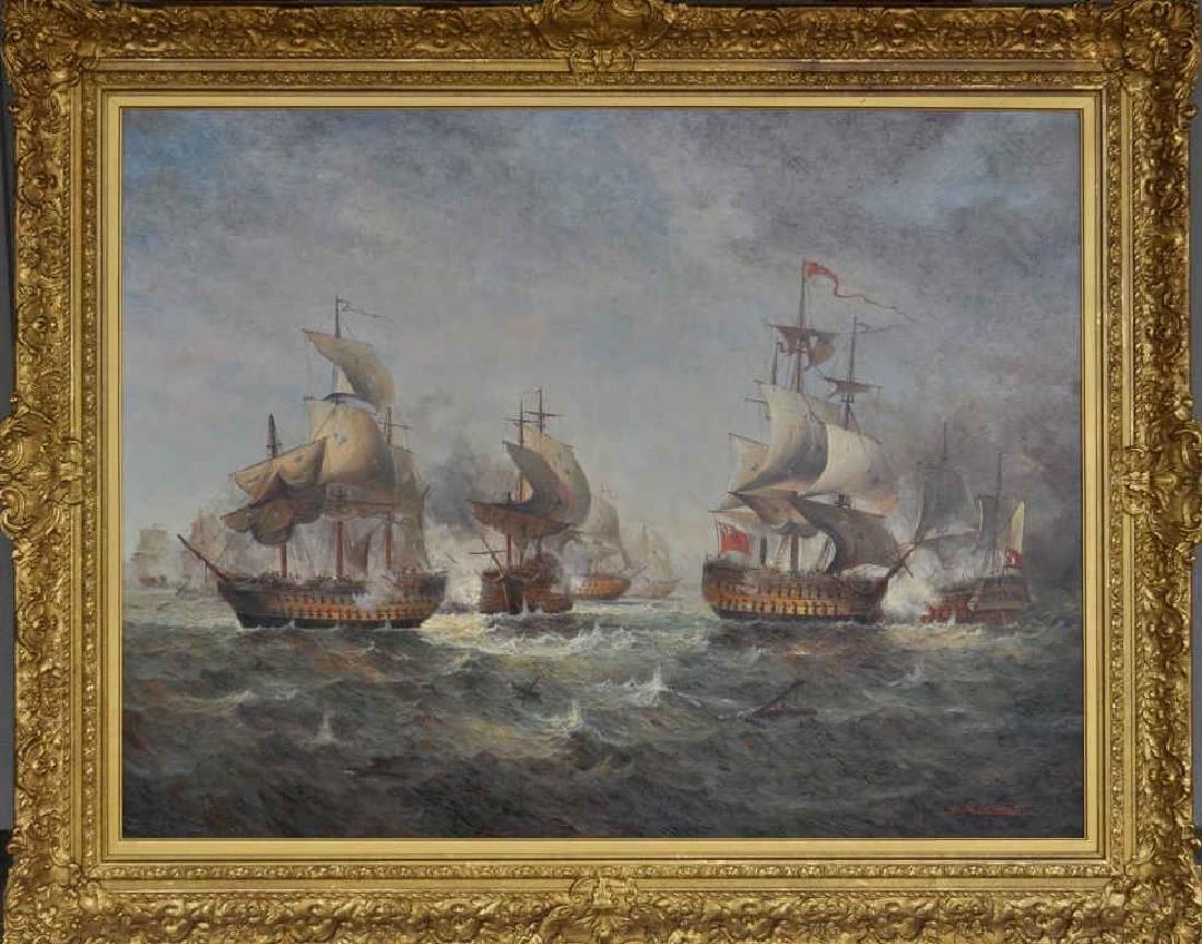 Jean M. Laurent, O/C Multi Vessel Naval Engagement