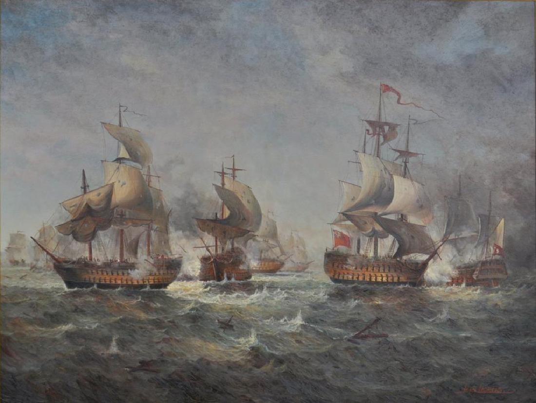 Jean M. Laurent, O/C Multi Vessel Naval Engagement - 6