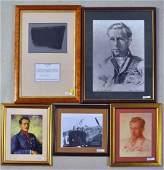 Group Five WWII RAF Interest Framed Works