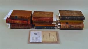 Sixteen Antique Books