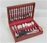 Towle Sterling Flatware Service For Twelve