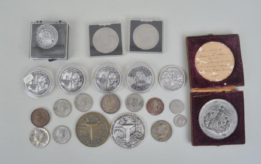 Group 22 Commemorative Medals & Coins