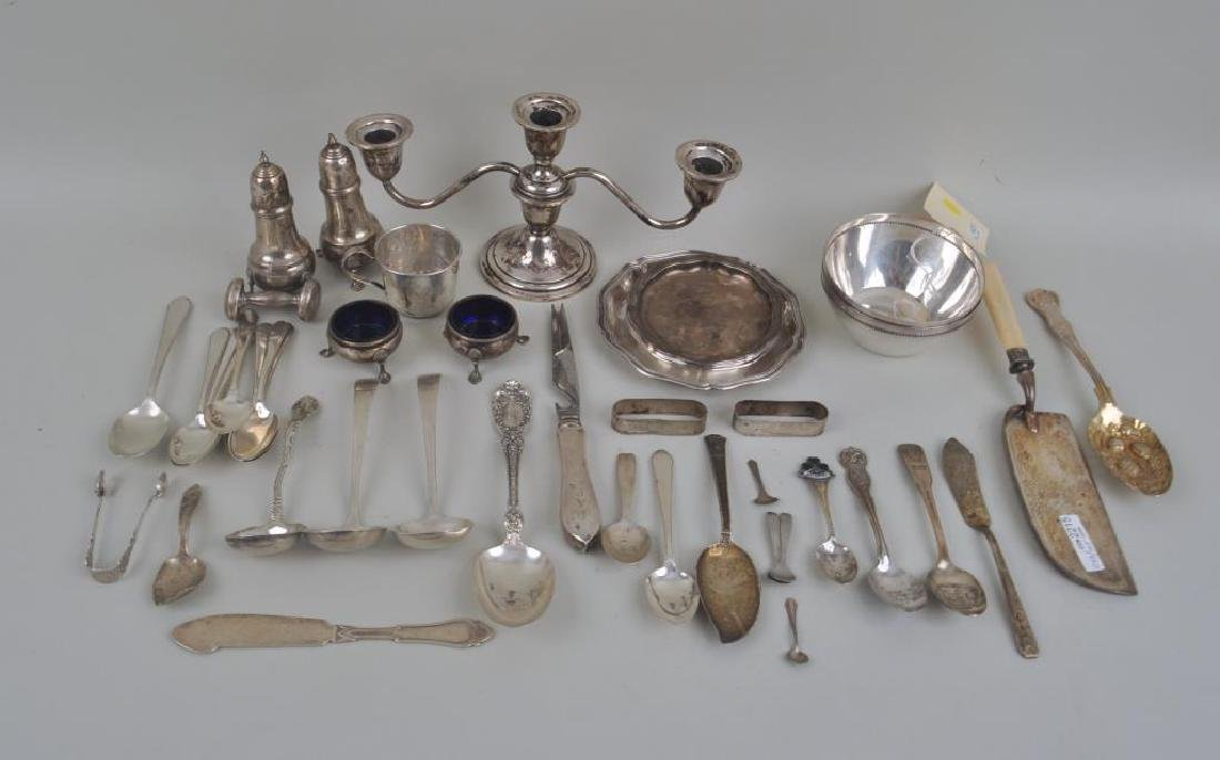Group Mostly Sterling Tableware