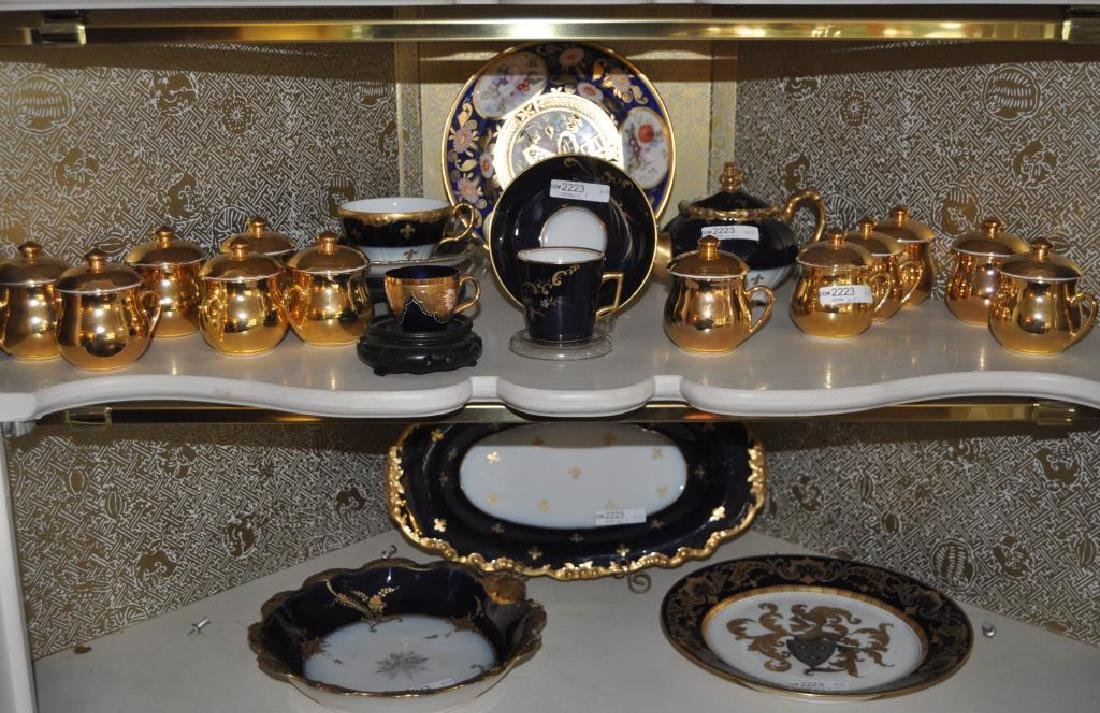 Group French Limoges & Other Porcelain Tablewares