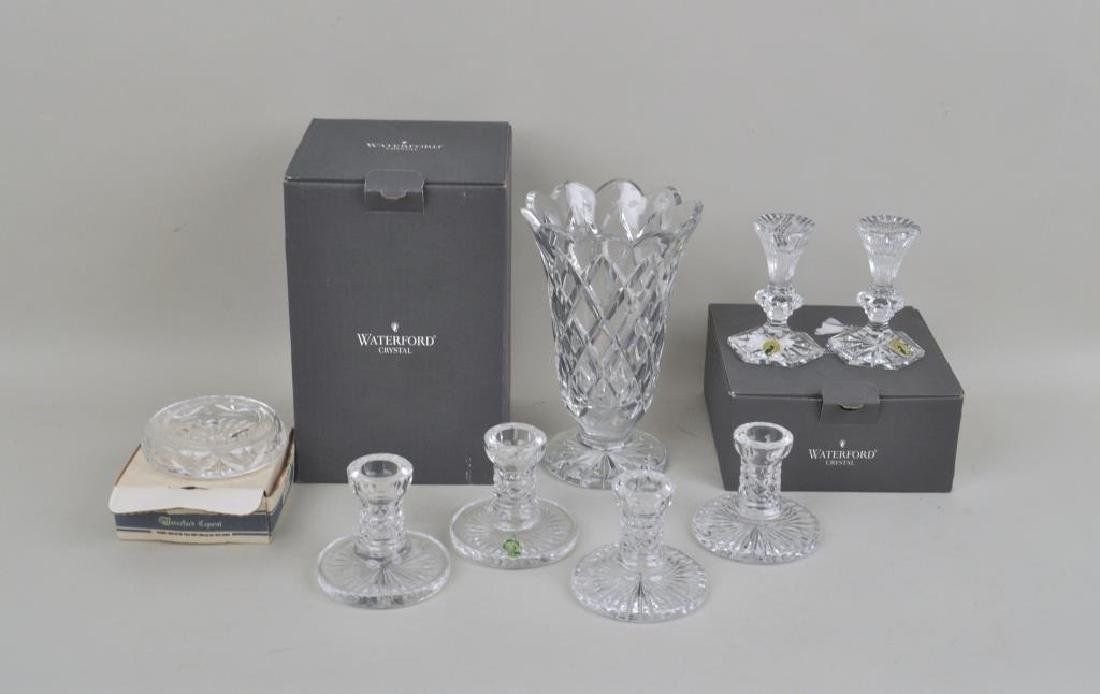 Group of Five Waterford Crystal Items