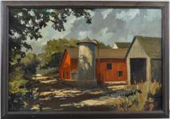 """Eric Sloane, O/B """"August In Connecticut"""""""