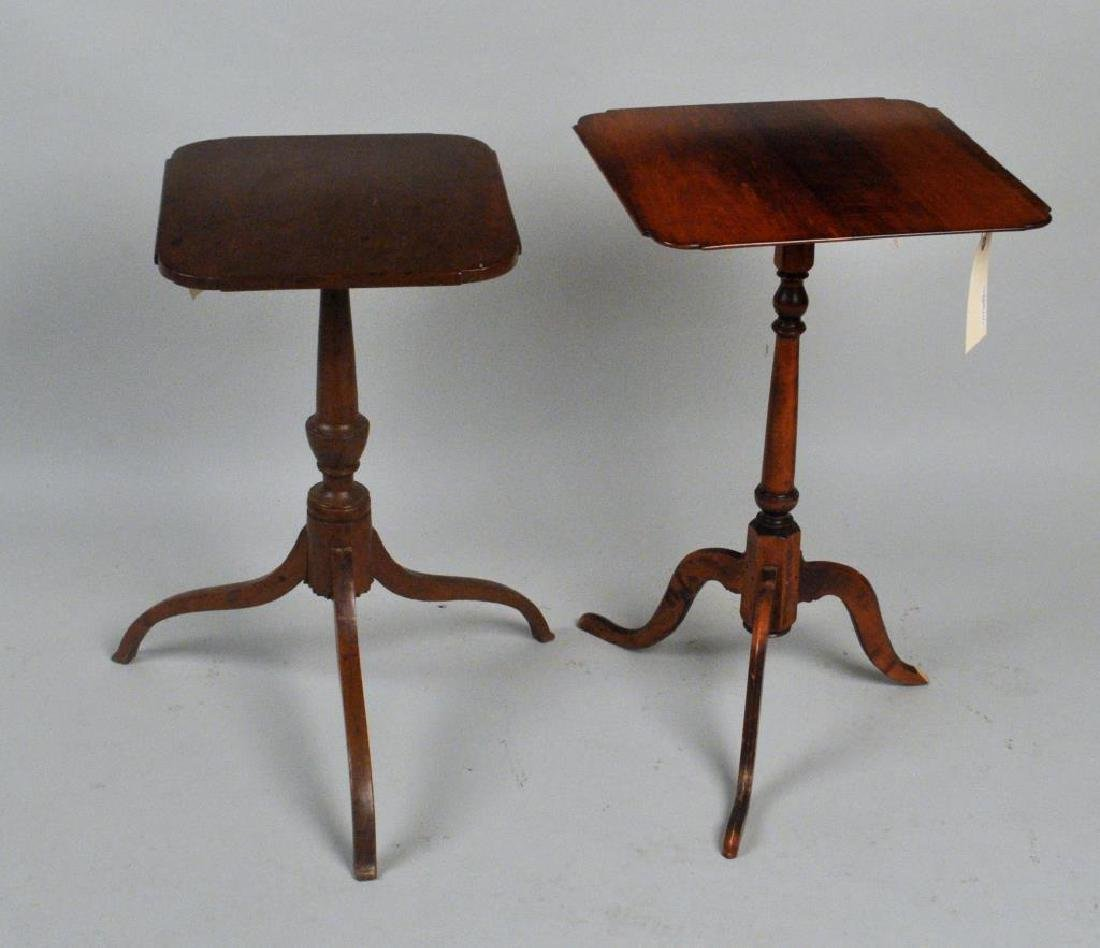 Two American Candlestands