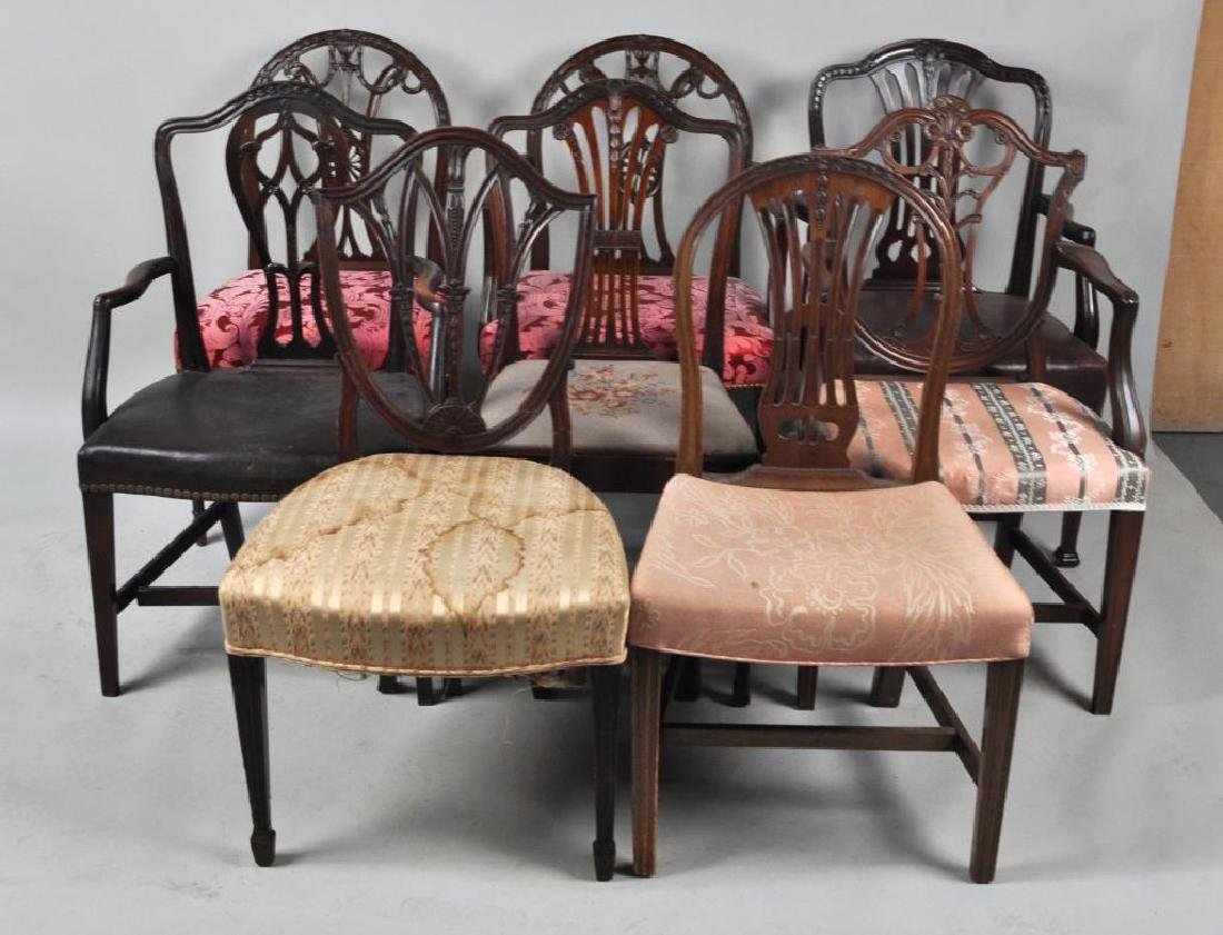 Estate Group 8 George III/George III Style Chairs
