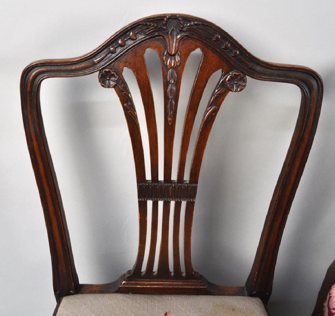 Estate Group 8 George III/George III Style Chairs - 7