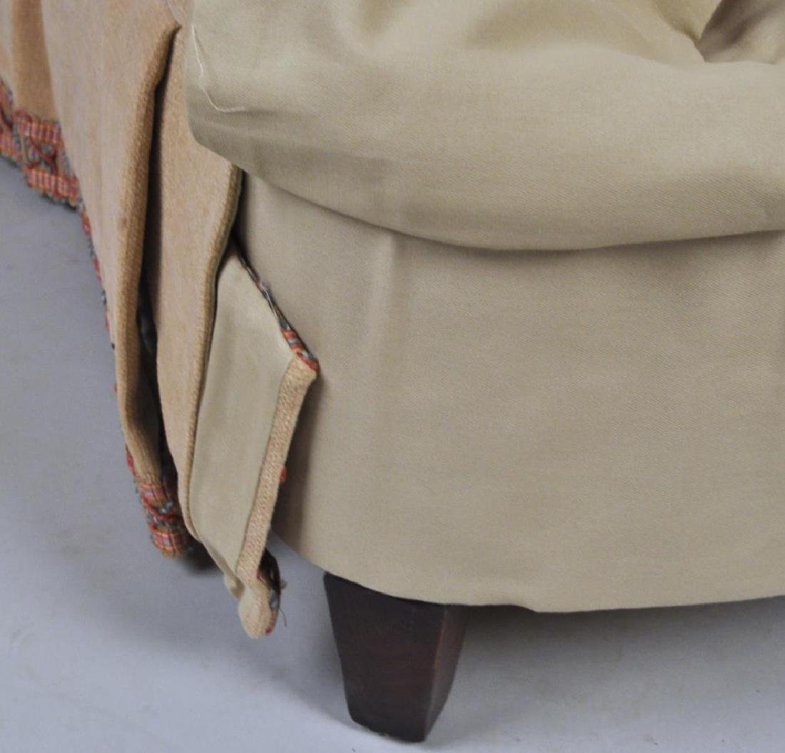 Pair Lee Jofa Designer Upholstered Club Chairs - 6