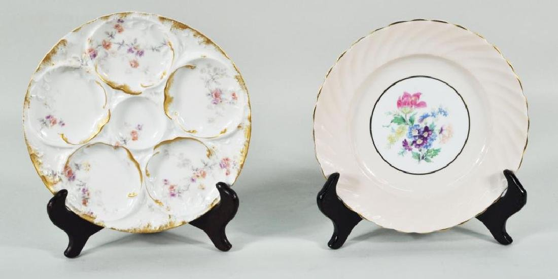Group Oyster & Luncheon Plates - 2