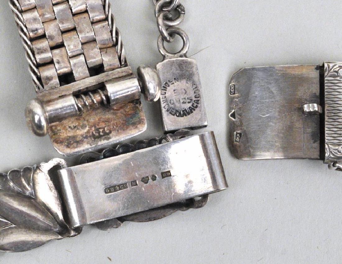 Four Vintage Silver Bracelets - 2