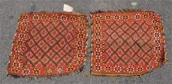 Pair Caucasian Bagfaces
