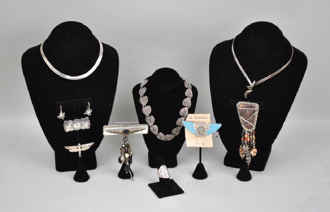 Group Ten Sterling & Other Jewelry Items