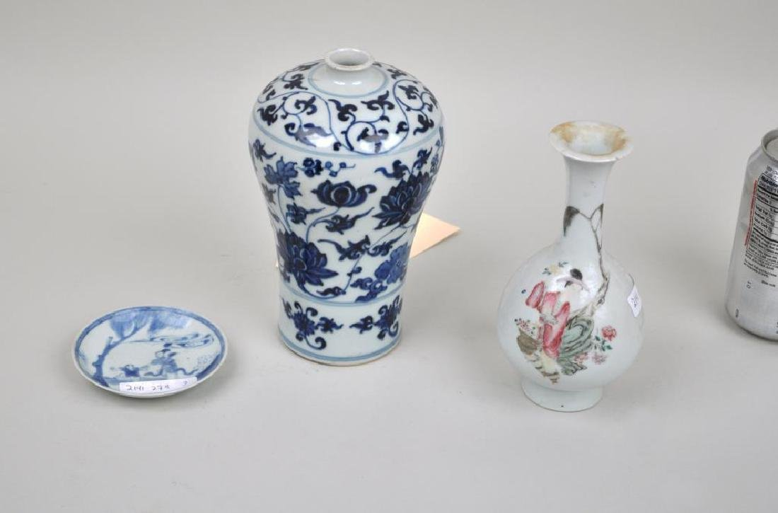 Group Chinese Porcelain Wares