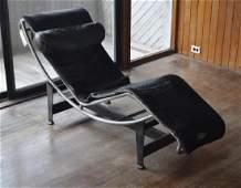 Le Corbusier Two Part Rocking Chaise Lounge