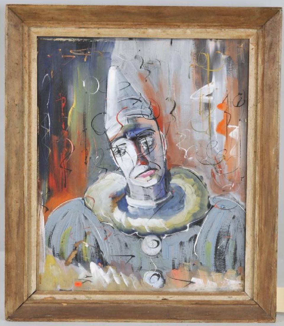 Walter Philipp, Gouache/Paper Clown
