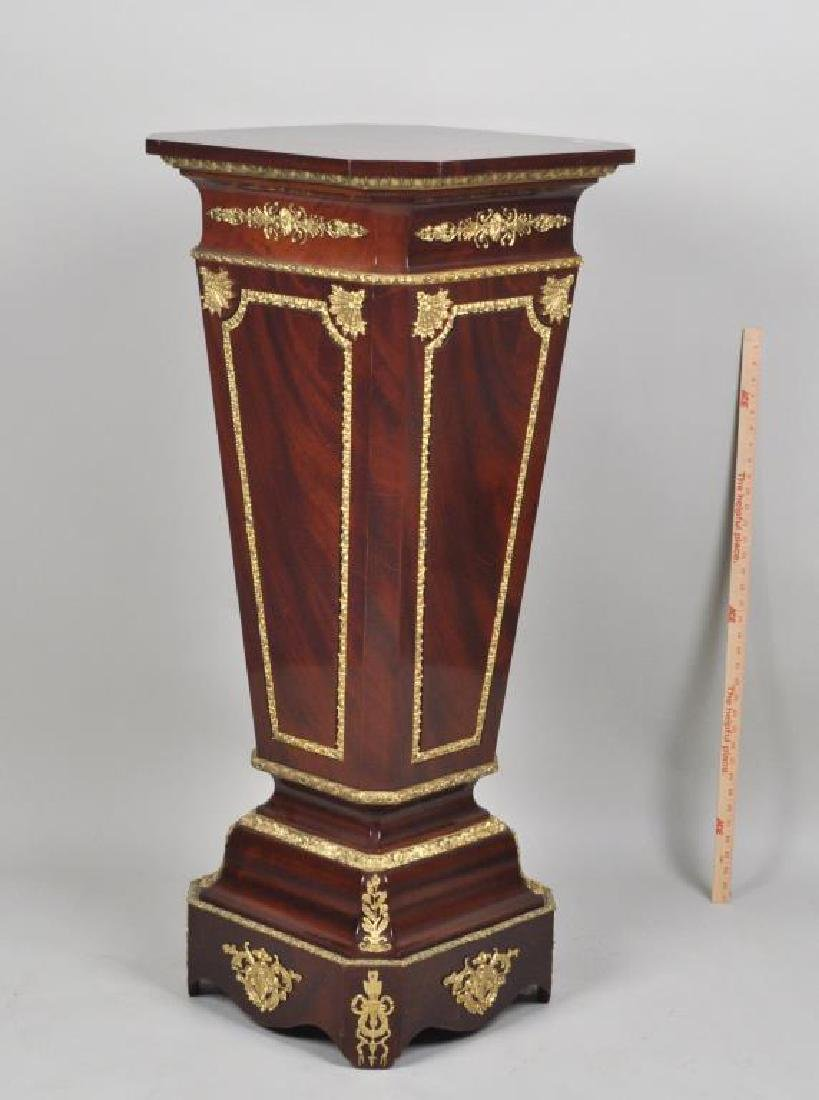 French 18th C. Style Urn Stand w/Gilt Metal Mounts