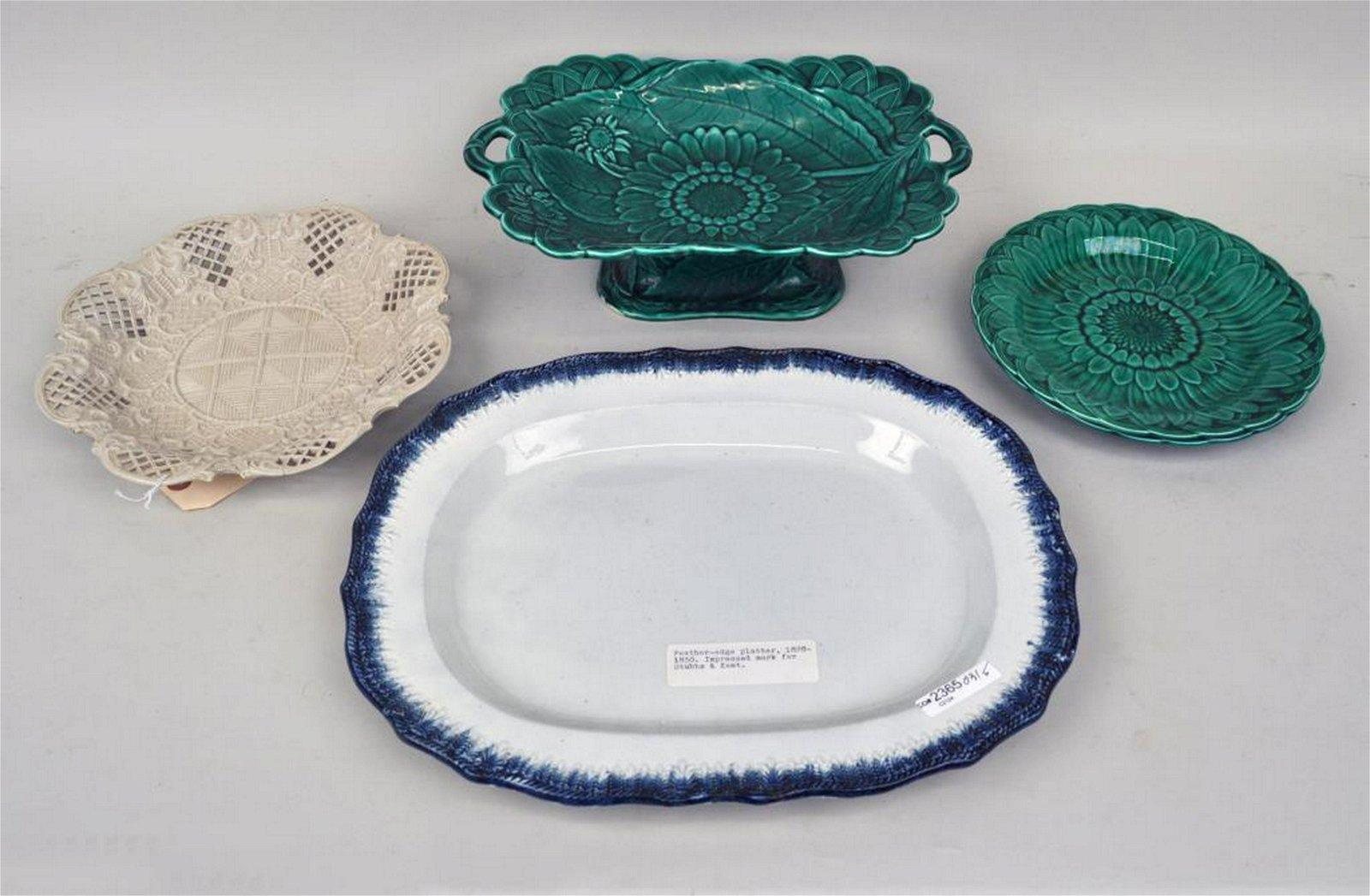 Estate Group English Porcelain/Pottery Wares