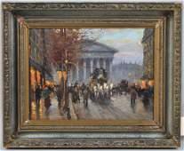 Charles Vignon OC Paris Street Scene