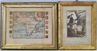 Two French Engravings of African Subjects