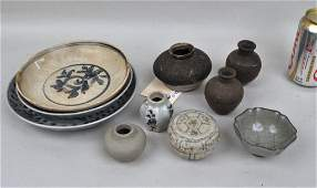Estate Group Chinese Pottery Items