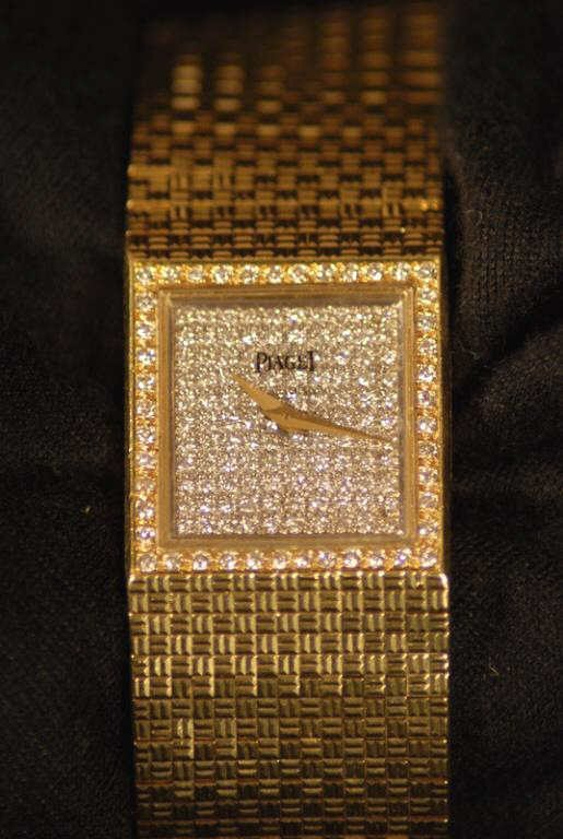 3: Piaget 18K Gold and Diamond Ladies' Watch