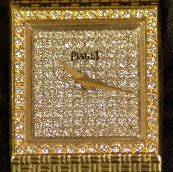3: Piaget 18K Gold and Diamond Ladies' Watch - 2