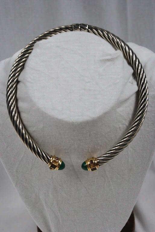15: David Yurman Renaissance Cable Necklace