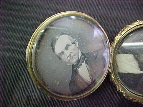 3: Double Daguerrotype Marcus DeForest & Son