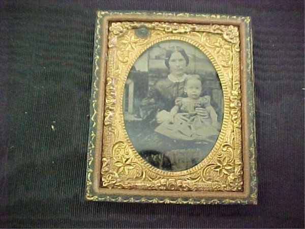 4: Cased Tintype Lucy Ann DeForest Bull