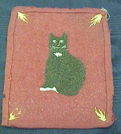 6: Early Cat Potholder Attr. Ann E. Bull