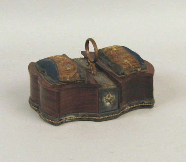 12: Regency Rosewood Sewing Box, 19th C.