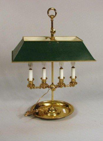 18: Brass Bouillotte Lamp