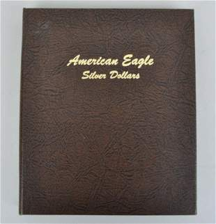 Book American Eagle Silver Dollars
