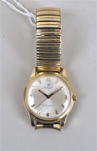 Hamilton Masterpiece 14K Gold Men's Wristwatch