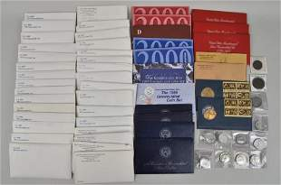 Collection US Mint Uncirculated Coin Sets