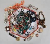 Large Lot Vintage Costume Jewelry