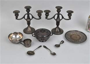 Group Nine Assorted Sterling Items