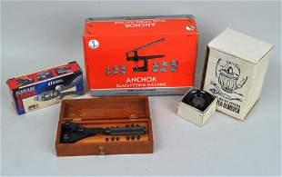Group Vintage Watchmaking Tools