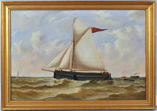 """R. Chappell, O/C Sloop """"Mary Isabel"""""""