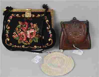 Three Vintage Handbags
