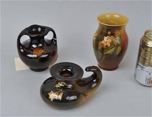 Group Three Art Pottery Vases