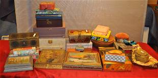 Large Lot of Various Jewelry Boxes