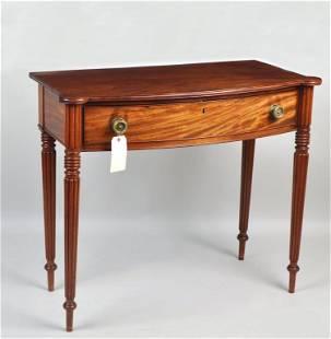 Fine Sheraton Carved Mahogany Serving Table