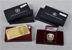 2 5 U S Mint Silver Coin Proof Sets